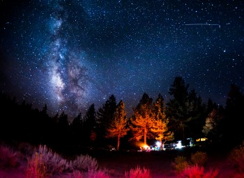 Milky Way - Mammoth Lakes